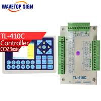 3 axis laser control card TL 410C power dc 24v knife can rotary Co2 Laser Controller laser cutter & laser engraving machine