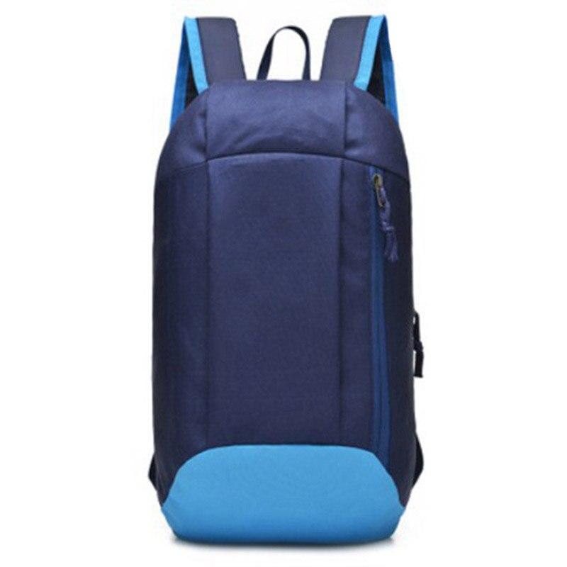 Men Small Backpack Polyester Patchwork Travel Shoulder Bags