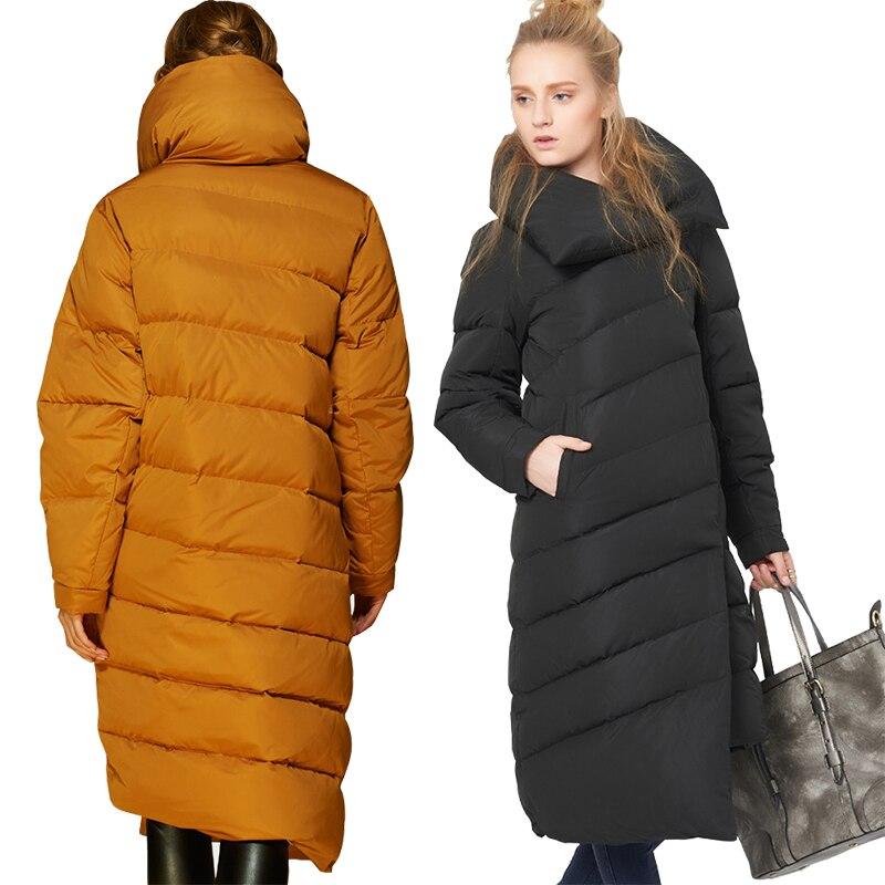 Grande Roffer Femme Mode Épais 2018 champagne Manteau Femmes Parka Taille D'hiver burgundy Asymétrique Long Designer Veste Bas L'émir Black Le Et Neige Vers Chaud De dqRwdz