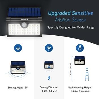 Solar Garage Lichter   Mpow CD131 42 LED Solar Licht Outdoor Solar Powered Wand Licht 3 Einstellbare Licht Modelle Für Hof Terrasse Garten Garage Pathway