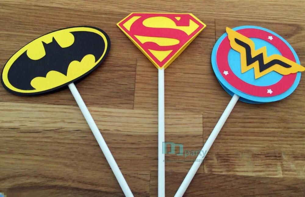 Justice League Superman 10 Stamps Party Favors