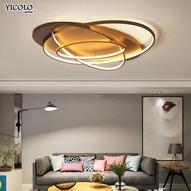 Oval Led Decke Lichter Leuchte Plafonnier Für Wohnzimmer Küche Schlafzimmer  Lampen Moderne Leuchten Beleuchtung AC85 260V