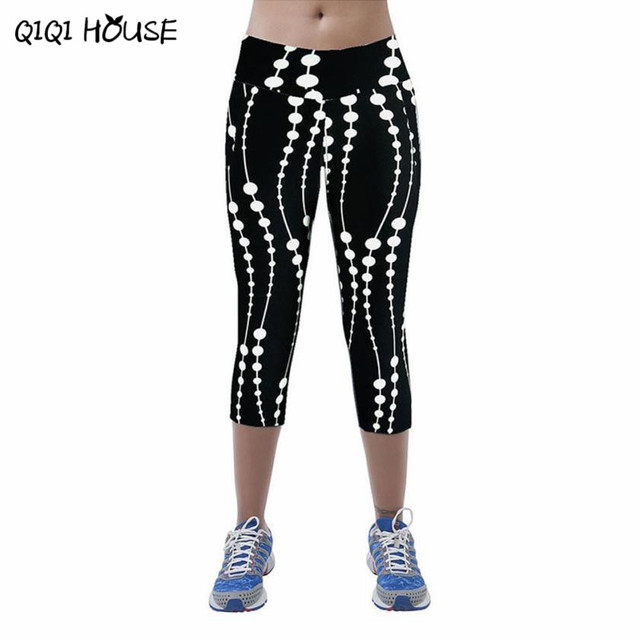 Leggings Fitness Womens Printed Stretch Top Fitness legging para academia mulheres