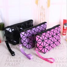 New 2016 Fashion Make Up Cosmetic Bag Women Bag Toiletries Pouch Travel Ladies Multifunction PU Organizer Makeup Case Bag