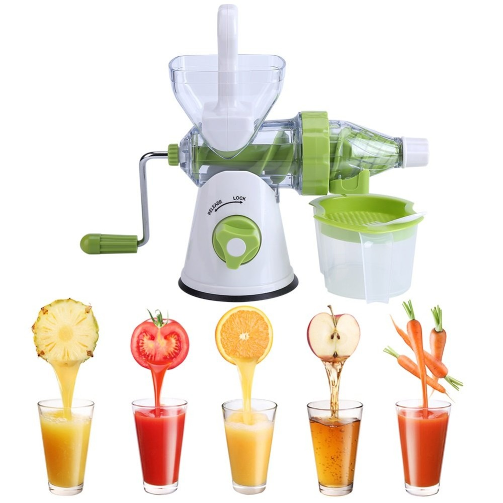 Manual Juicer Wheat Grass Vegetable Fruit Extractor Lemon Lime Juice Extractor