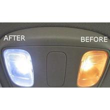 10x LED di Ricambio Per Malibu di Paesaggio Della Luce 5 Led/smd Per Lampadina 194 T10 T5 Base del Cuneo Bianco Freddo 12v Dc 1407ww r30