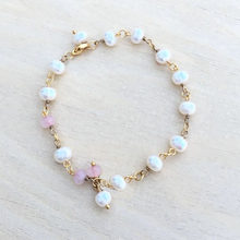 Lanseis Beads Charm Unique For Women Pearl Chain Bracelet, 1Pcs For Jewelry Making New Gift Fashion Jewelry For Women(China)