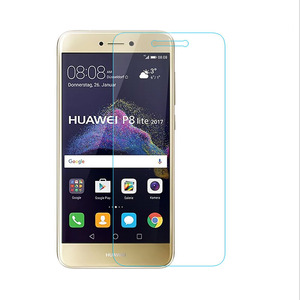 Image 3 - 2Pcs Tempered Glass for Huawei P8 P9 lite mini plus 2017 Honor 7A 7C Pro Explosion Proof Protective Film Screen Protector