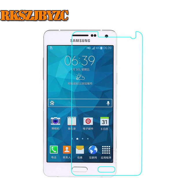 For Samsung GALAXY A5 Duos Lte Ultra Thin 9H Anti Shock Tempered Glass Film Screen