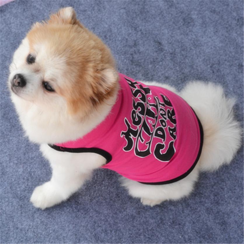 Transer New Fashion Summer Cute Dog Pet Vest Puppy T Shirt
