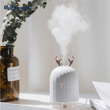 BOMEINENG 220 мл Рождественский Белый олень увлажнитель воздуха диффузор эфирного масла для домашнего автомобиля ароматерапия Арома диффузор с лампой