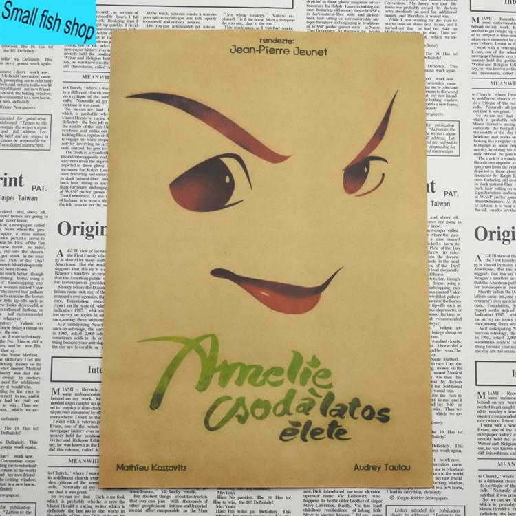Amelie Audrey Tautou Francuska romantyczna literatura Wyposażenie - Wystrój domu - Zdjęcie 6