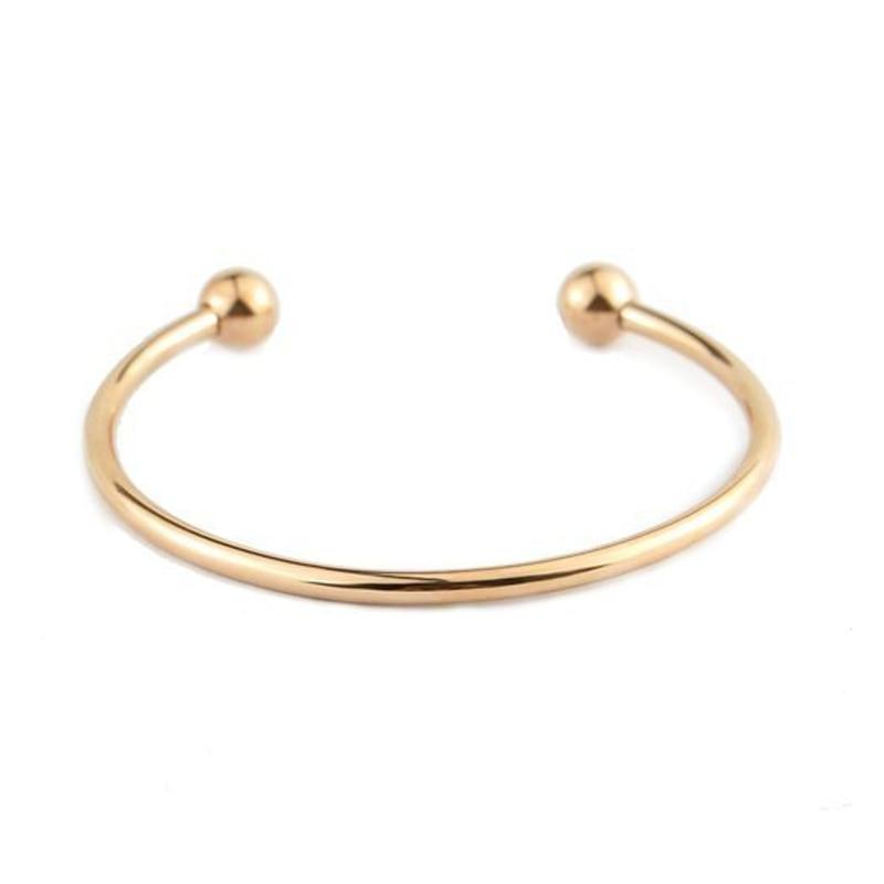 BS001-20 DIY bangle bracelets for women stainless steel