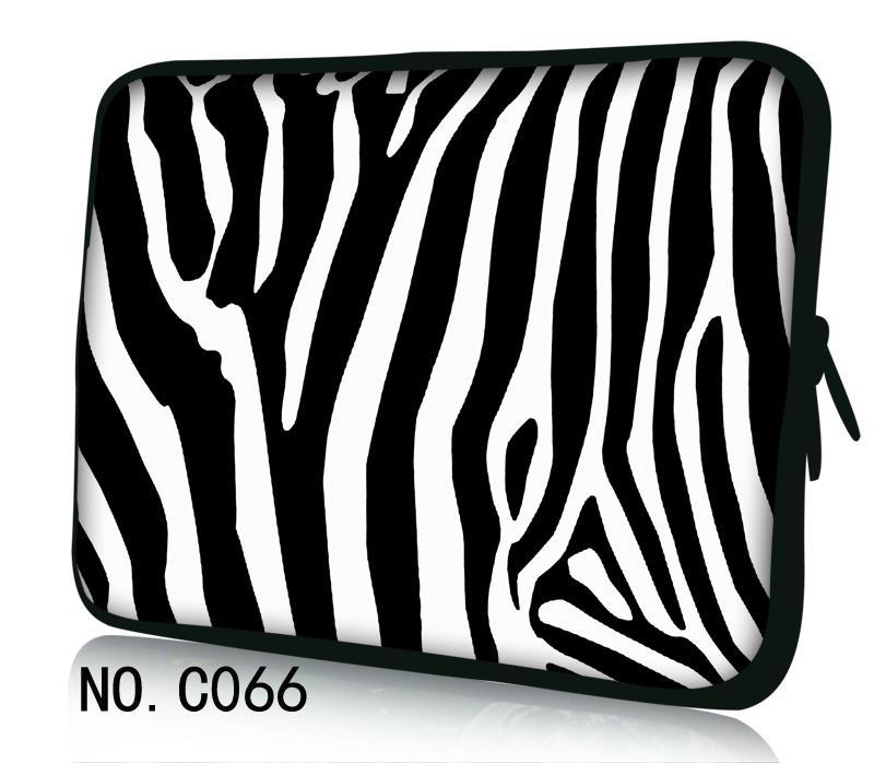 Zebra Laptop Bag Case Soft Computer Cover For Dell HP Acer Lenovo For MacBook 11.6 12 13 14 15 15.6 17 inch Laptop Sleeve