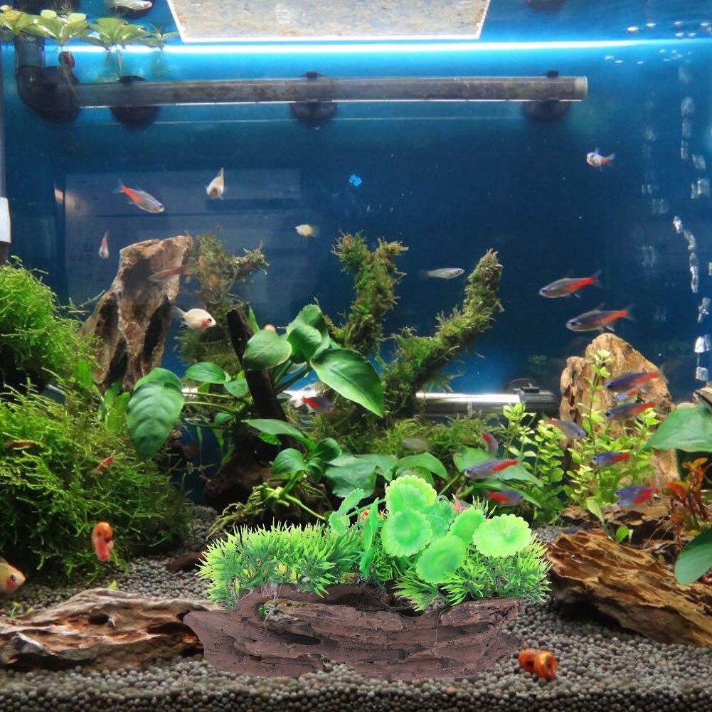 Artificial aquarium fish tank - New Arrival Resin Aquarium Tree Trunk Ornaments Artificial Driftwood Resin Fish Tank Decoration 3 Sizes Available