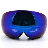 MG 018A BL Man Women CRG Brand Motorcycle Motocross Goggles Glasses Double Lens Helmet Ski Snowboard Mask Goggles