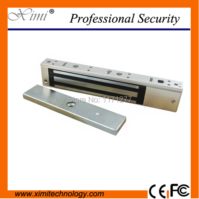 280KG/600LBS for door access control with door position detection output magnetic lock M280ST single electromagnetic lock new 280kg 600lbs magnetic lock without door position detection output for fire exit door 280kg embedded electromagnetic lock