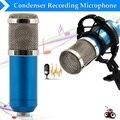 Pro Áudio BM-800 Condensador Dinâmico Com Fio Kit de Estúdio de Som para Gravação KTV Karaoke Microfone Mic com Choque Monte