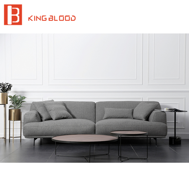 Lazy Boy Style Cotton Velvet Fabric Material Sectional Sofa Set