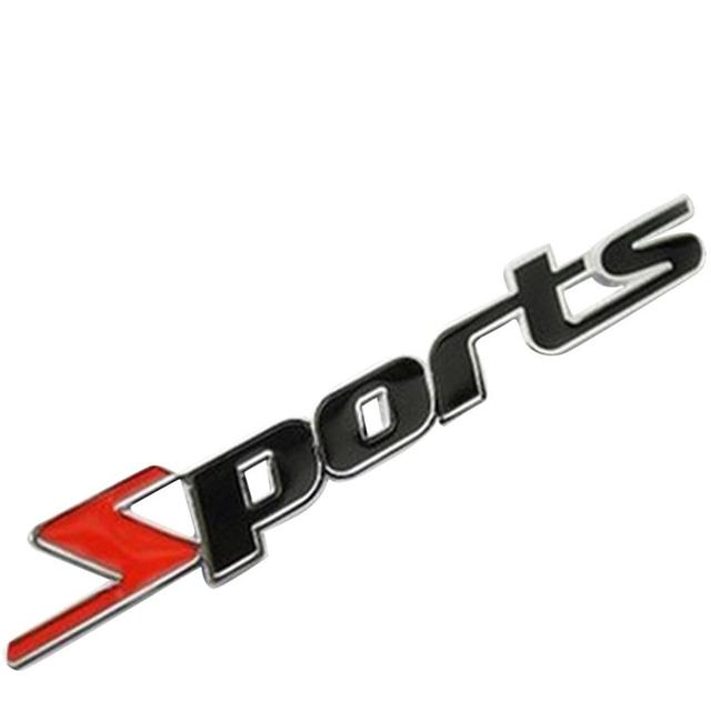 Hot classic sports mind logo car stickers diy decal graphic stickers car decal sticker wholesale