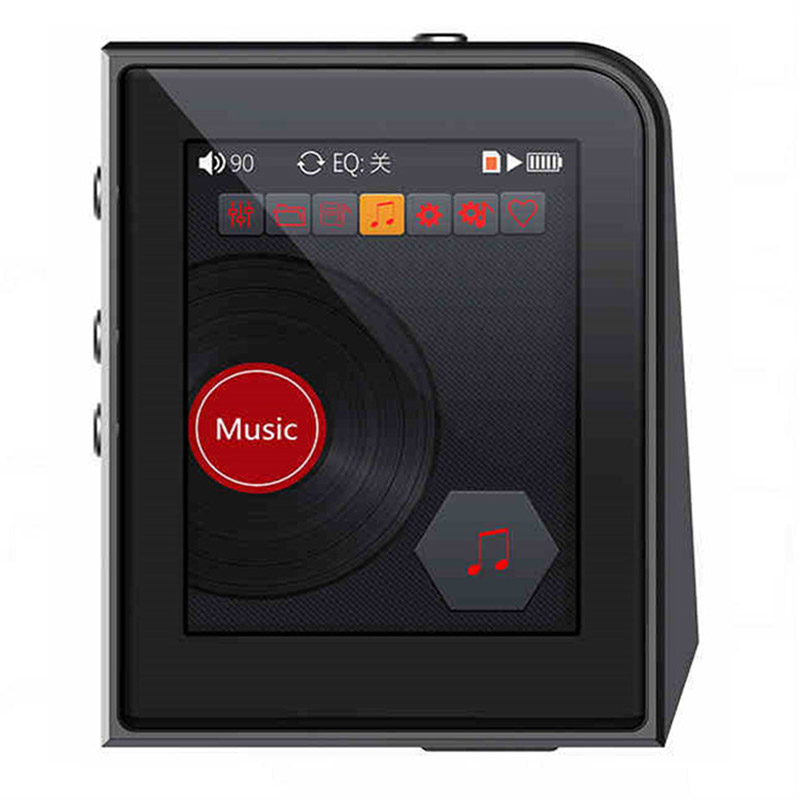 Original RUIZU A50 HD Lossless Mini Sport MP3 Player With 2.5 Inch Screen Hifi MP3 Music Player Support 128G TF Card/DSD256 2016 new style mini mp3 player sport hifi lossless music player 16gb hot sales for mobile phone pc tablet