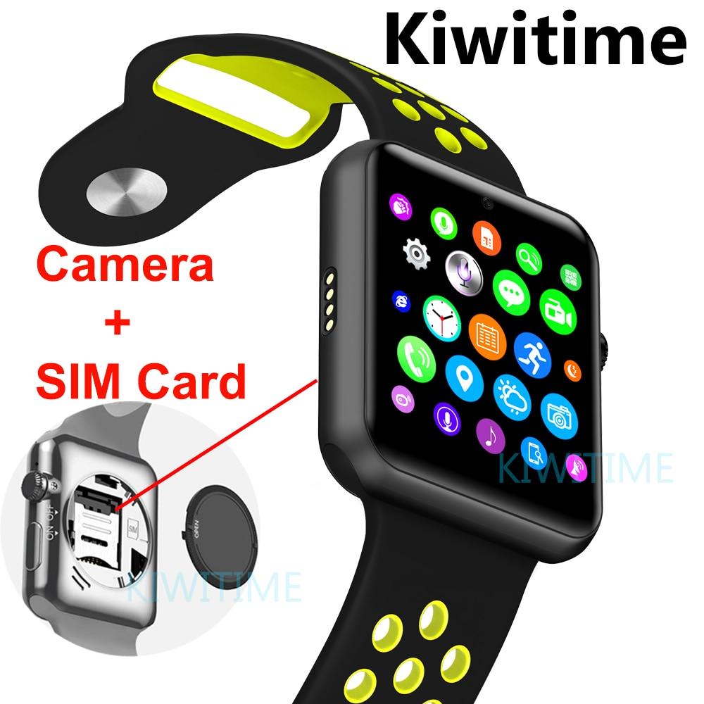 Bluetooth smart watch Sim card Camera smartwatch case for ...