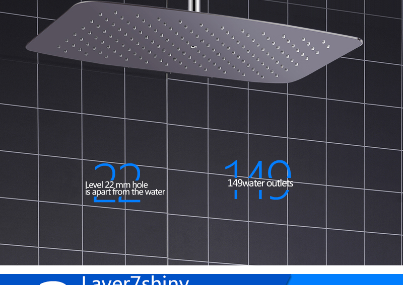 Bathroom 2 Way Hot Cold Brass Diverter Multifunctional Shower Kits Air Pressurized High Pressure Water Saving Shower Head Set (13)