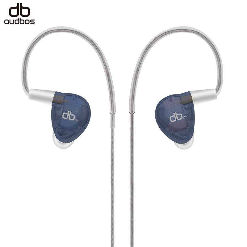 2018 AUDBOS P4 3 Units 3BA In Ear Earphone HiFI MMCX Balanced Armature DIY Headset High-end DJ Studio Monitor Earphone