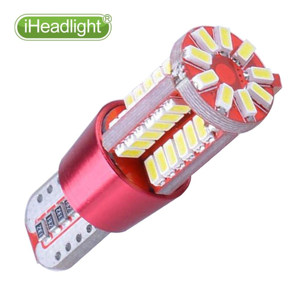 4x T10 W5W 194 3030 LED ampul 12V Dönmə Yan Lisenziya Plitəsi - Avtomobil işıqları - Fotoqrafiya 4
