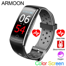 Smart Bracelet Q8S Heart Rate Sleep Monitor Blood Pressure Fitness Tracker Men Women Watch Waterproof Color Screen Sports Band
