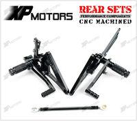 NICECNC Гонки подножки Rearset Сзади наборы для ухода за кожей для Honda CB400 супер четыре 1992 93 94 95 96 97 98 1999 регулируемая подножка
