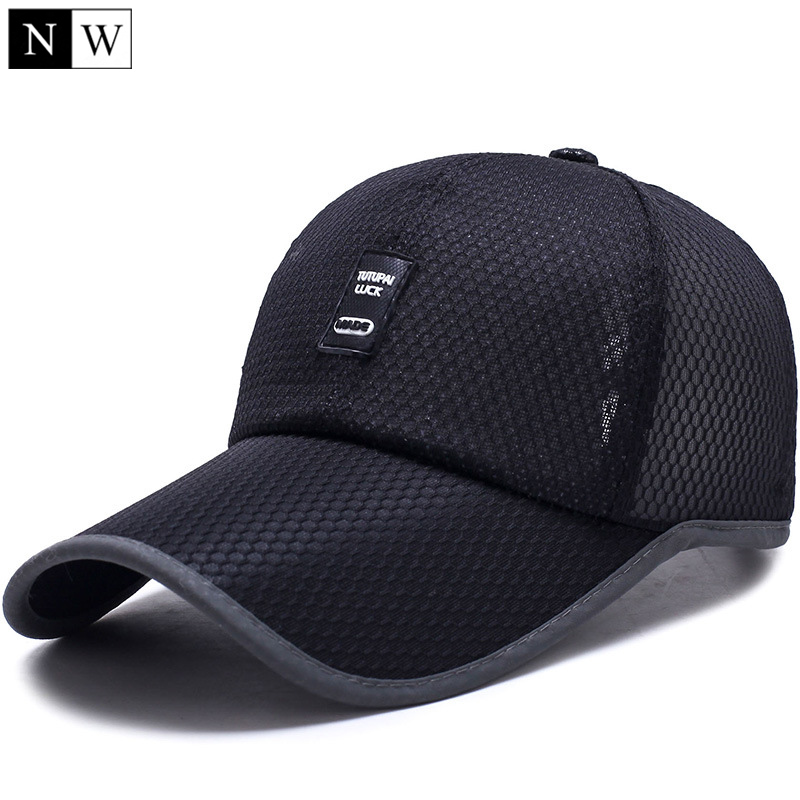 [NORTHWOOD] 2017 Polyester Summer Hat Men Mesh   Cap   Fishing   Baseball     Cap   Women Golf Bone Masculino Snapback Trucker   Cap
