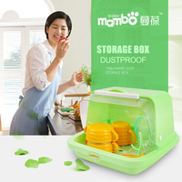 Mambobaby Portable Travel Outdoor Baby Food Bottle Milk Powder Container Storage Box Large Baby Feeding Bottle Cover Bag Holder