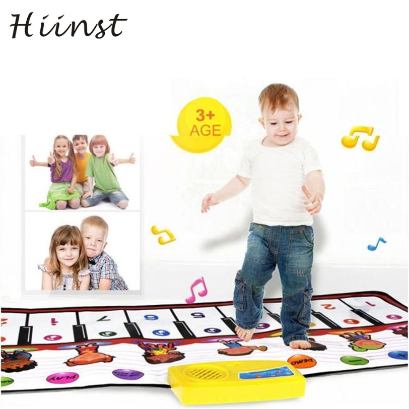 HIINST drop ship New Touch Play Keyboard Musical Music Singing Gym Carpet Mat Best Kids Baby Gift S25 Ag15 gift
