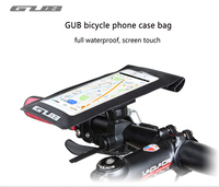 GUB 2017 Bicycle Bag For Cell Phone Bike Frame Front Head Top Tube Waterproof Bike Bag