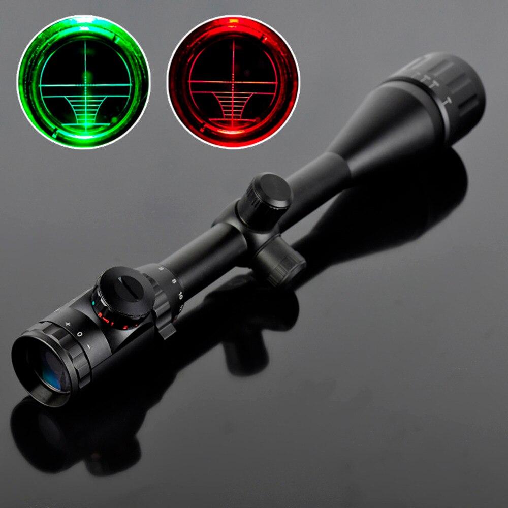 3-9x40 lunettes de Visée Tactique Carabine À Air Comprimé Optique Spotting Scopes Pour La Chasse Camping + Adjustble Support De Montage Noir