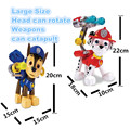 Pop Toy Patrulla Canina Puppy Patrol Chase,Marshall Pat Patrouille Russian Kids Toys For Girls Boy Anime Action Figure MU8