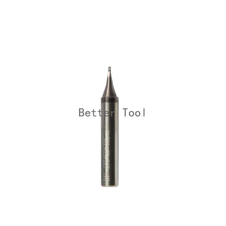 raise carbide end milling 1 0 mm carbide end milling cutter for Universal Verticle key cutting