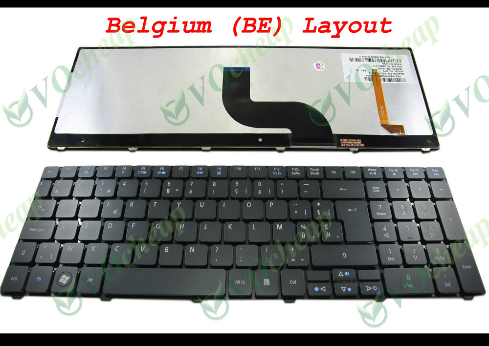 New Acer Aspire 5800 7235 7336 7535 7540 7735 7736 7738 7740 8935 US Keyboard