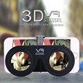 """Портативный Складной Мини VR Очки КОРОБКА Google Картон Виртуальная Реальность 3D Фильмов Игры для iPhone 4.0 ~ 6.5 """"Android iOS смартфон"""