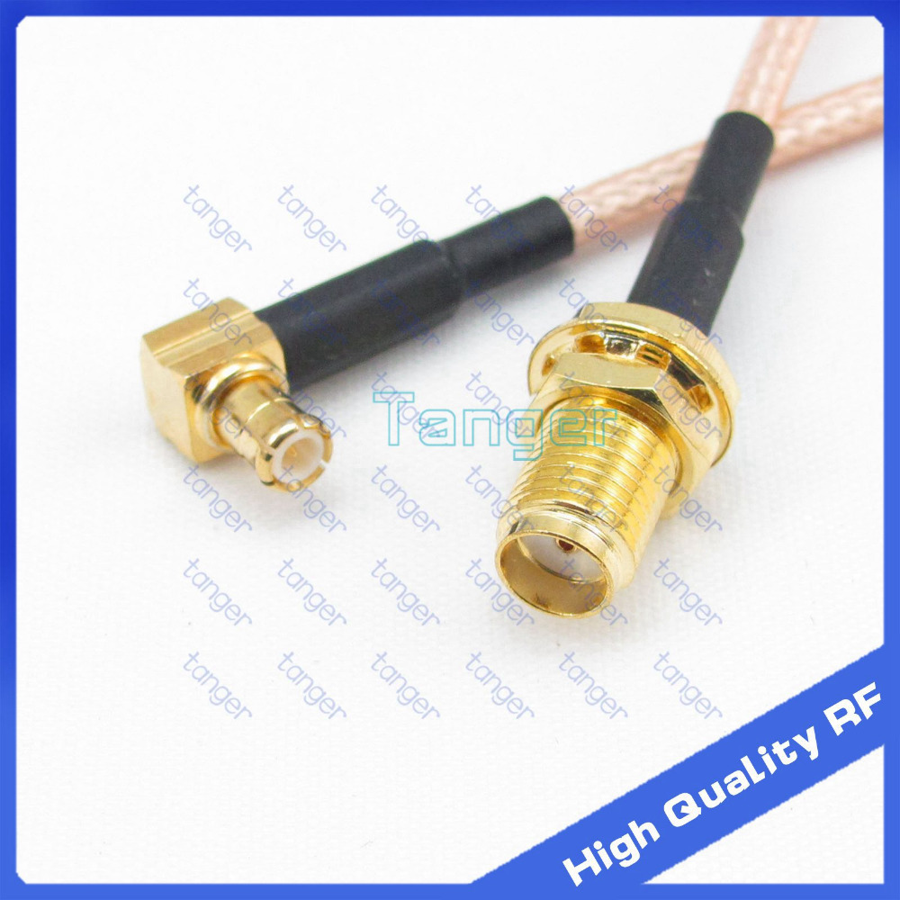 Tanger Rf Mcx Male Plug Right Angle To Sma Female Jack With 8inch Cf Moto E Charm 150cc Wiring Diagram 20cm 8 Rg316 Rg 316 Coaxial Pigtail Jumper Low Loss Cable