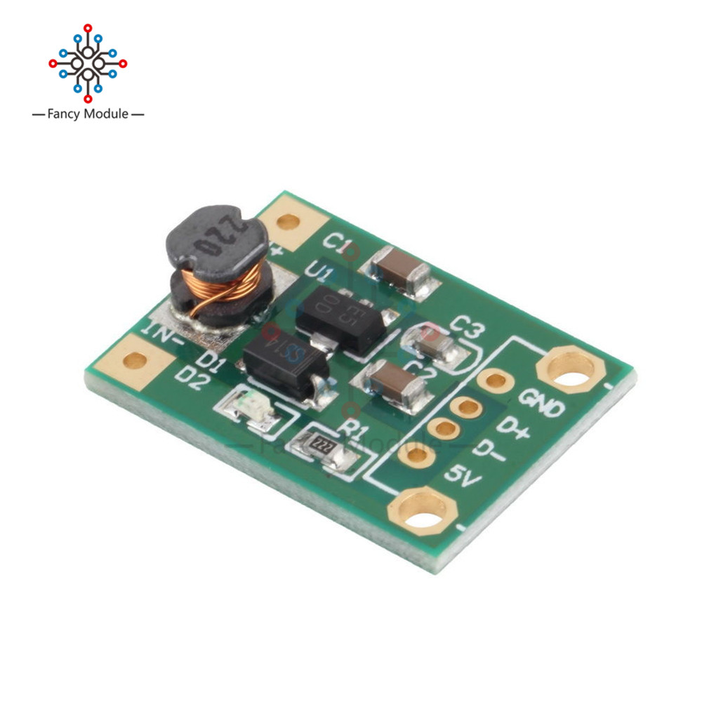 600mA DC-DC Mini Step Up Power Module 1-5V To 5V Step-up Boost Converter For Arduino 5pcs dc dc step up converter booster dc dc power supply module adapter output 2a 28v for arduino step up power board mt3608