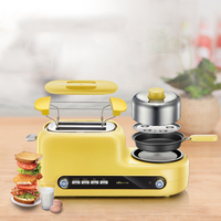 Toaster household multi function breakfast machine toaster toaster oven fully automatic toaster driver sandwich maker