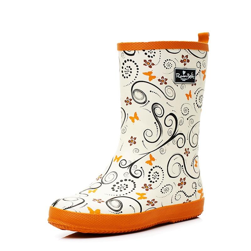 Orange Rain Boots For Women Boot Ri