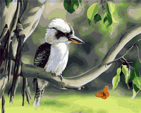 Animal Resting Birds Painting Frameless Picture On Wall Diy Oil Painting By Numbers Paintings For Living