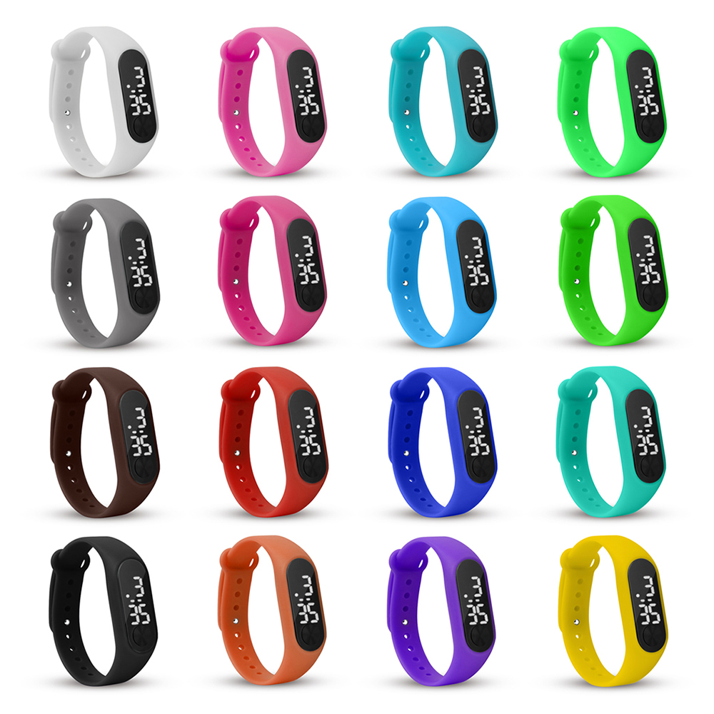 Children Electronic Fashion Digital Watch Kids Watch LED Display Watches Man Ladies Gift For Boy And Girls 2018 Relogio Infantil