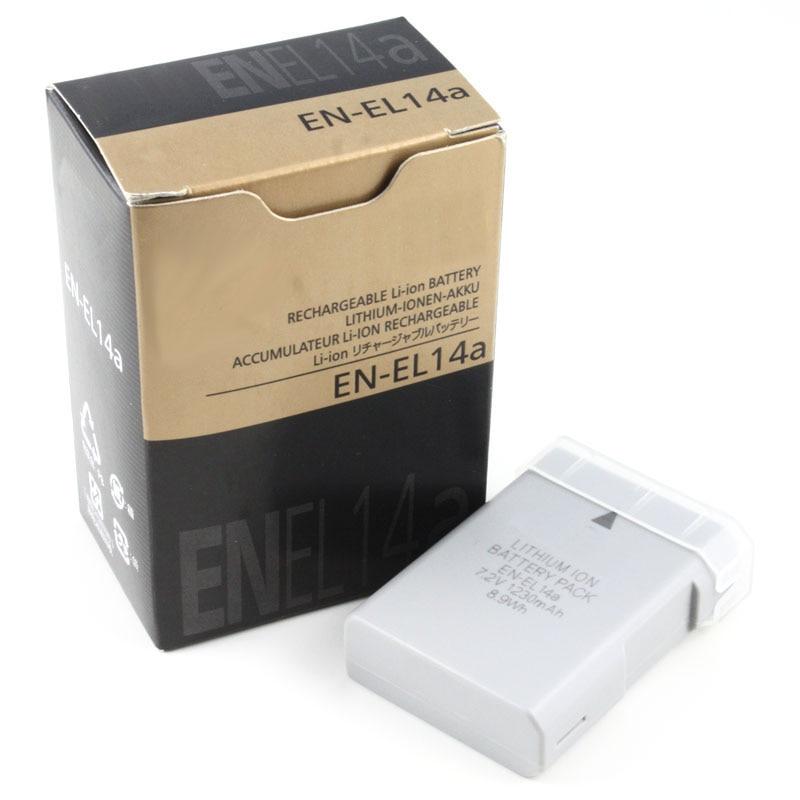 EN-EL14a EN EL14a EL14 camera Battery batteries for Nikon DF D5500 D5300 D5200 D5100 D3300 D3200 D3100 P7100 P7700 P7800 P7000