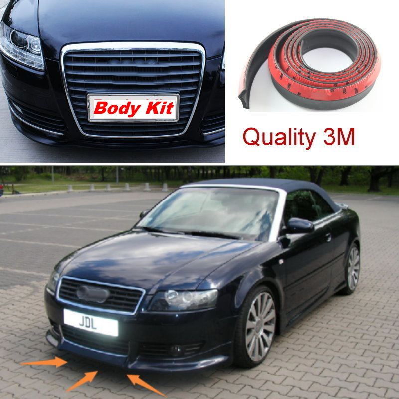 Auto Car For Audi Q5 SQ5 2008~2015 / Front Lip Deflector Lips Skirt / Body Chassis Side Protection / Spoiler Spliter Valance