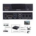 SCART HDMI к HDMI Конвертер Full HD 1080 P Digital High Видео высокой четкости Konverter США Power Plug Адаптер Для HDTV HD L3EF