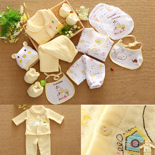 9804cbd22 18PCS /Set For Newborn Baby Cotton Clothing For winter Warm Thicken Hot  Sales Gift / Infant Cute Clothes / Free Shipping-in Clothing Sets from  Mother & Kids
